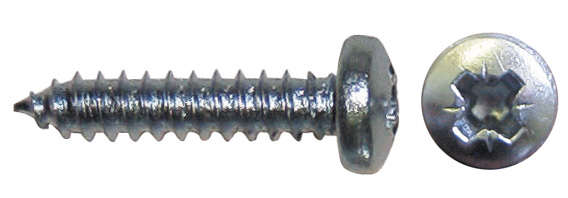 100 Pieces Pearl PMS139 1-inch Machine Screws and Nuts 2BA