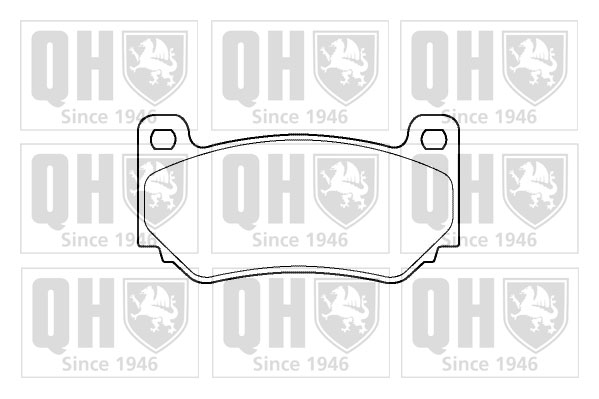 Brake Pads Set BP1391 QH CP760010 SFP000170 23679 Genuine Quality Replacement